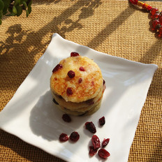 蔓越莓土豆饼