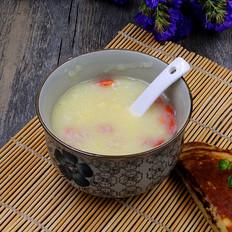 营养早餐枸杞玉米糊