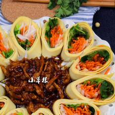 饭店最受欢迎的一道菜——京酱肉丝