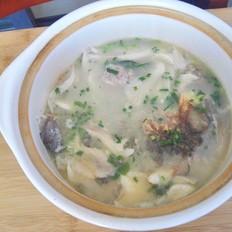 菌菇鲫鱼汤
