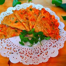萝卜丝小虾饼