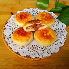 腊肠虾米萝卜丝饼