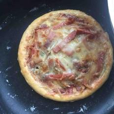 空气炸锅版土豆培根披萨