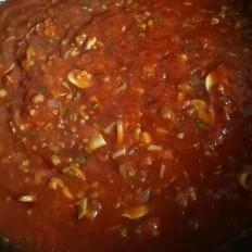 意大利面番茄肉酱