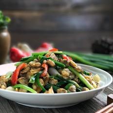 葱姜炒螺肉,好吃又下饭的家常菜
