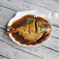 烧平鱼:滋味浓郁,肉嫩鲜美