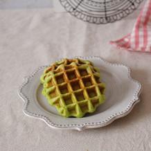 菠菜华夫饼#早餐#