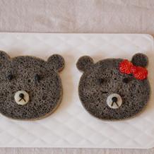 黑芝麻酱小熊面包#早餐#
