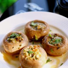 蒜香焗口蘑