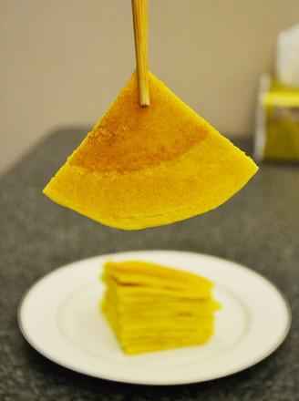奶香玉米饼-无油更健康的做法