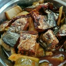 胶东鲅鱼蒸萝卜