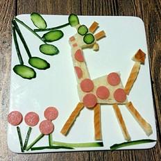 让孩子爱上吃饭-儿童餐拼盘
