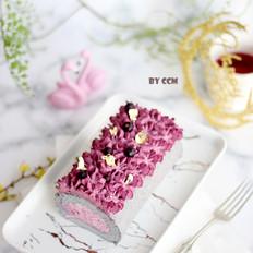 黑穗醋栗仙女蛋糕卷
