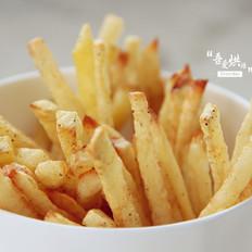 周末小乐趣——烤薯条