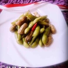 五香花生毛豆