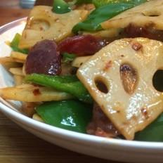麻辣香锅之麻辣藕片