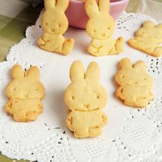 卡通小兔饼干