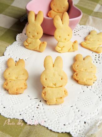 卡通小兔饼干的做法