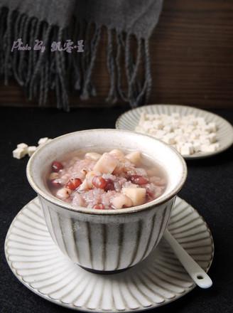 红豆薏仁茯苓粥的做法