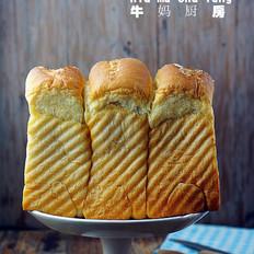夹沙香甜土司