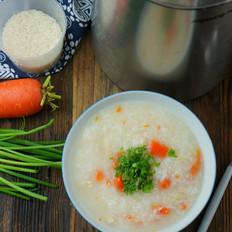豆浆机版鸡肉胡萝卜粥