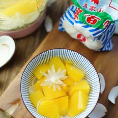 黄桃百合糖水的做法大全