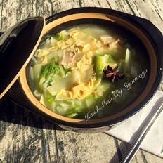 猪肉炖白菜干豆腐