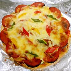 火腿彩椒披萨