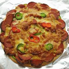 Q趣肉肠披萨
