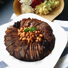 黄豆卤牛肉