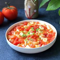 蟹黄豆腐烩番茄