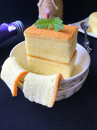 会做瑜伽的古法蛋糕(植物油版)#下午茶#的做法