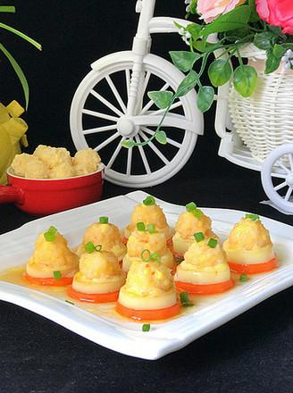 磷虾仁玉子豆腐的做法