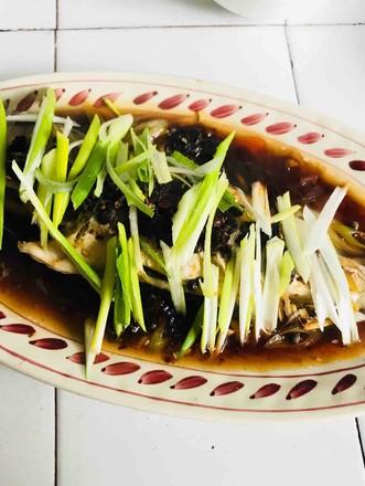 清蒸豆豉石斑鱼的做法