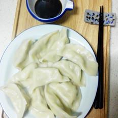 白菜香干肉馅饺子