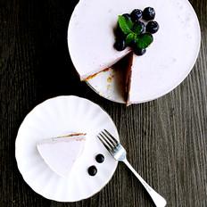 蓝莓果酱慕斯蛋糕