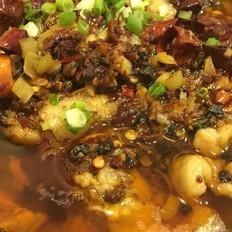 川菜水煮肉片的制作方法