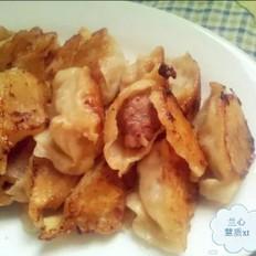 水煎牛肉莲藕饺