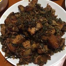 梅干菜炖肉