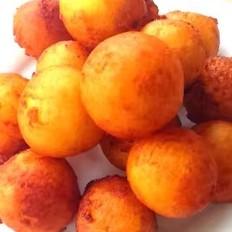 炸紅薯丸子