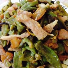 肉炒干莴笋片