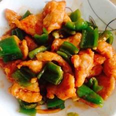 柿子椒咕咾鸡肉