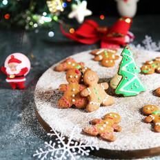 【圣诞祝福装入饼干中】姜饼人
