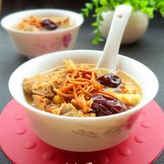 虫草花清补汤