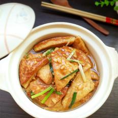 家常豆腐煲