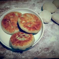 青椒豆角馅饼