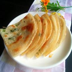 饺子皮葱油酥饼