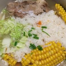 玉米排骨汤泡饭