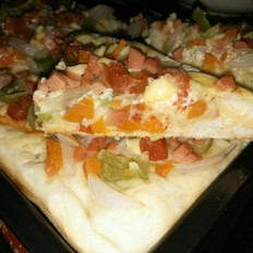 爱厨家庭自制披萨