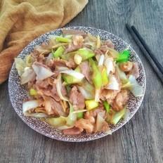 葱爆羊肉#午餐#